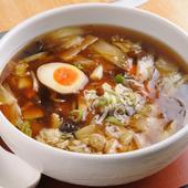 野菜とスープの旨みたっぷり『うま煮ラーメン』