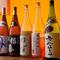 日本酒・梅酒・焼酎の各種