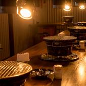 にぎやかな宴会におすすめ。美味しい焼肉で充実したひとときを