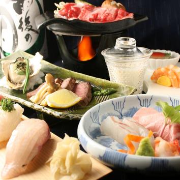 忘年会・接待に!選べる名物料理コース!飲み放題¥7000コース