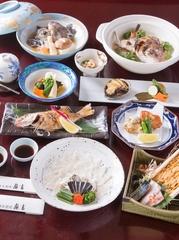 日本料理をじっくりと味わう、接待や宴会にオススメのコースプラン