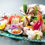 ご宴会は人気料理が贅沢に揃うコースに決まり。飲み放題付です