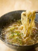 あっさりとしたお店自慢のスープ『鶏そば』