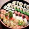 色とりどりの魚介を味わい尽くす『寿司盛合せ』