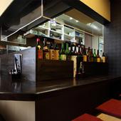 地方の焼酎、岐阜県産の日本酒を中心に揃えています
