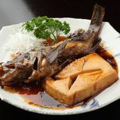 今が旬の魚と付け合せをじっくり煮込みます『メバル』