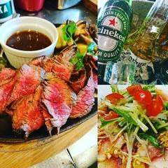 生ビールも、ワインも飲み放題!本山バルの人気料理と季節の食材を盛り込んだ特別コース!税込み4000円+税