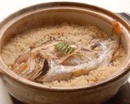 名物 鯛めし(3合土鍋炊き)