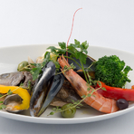 新鮮な魚介そのものの味を楽しめる本格イタリアンレストラン
