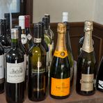 イタリア料理には欠かせないワインは種類が豊富