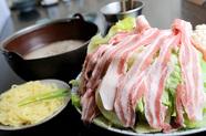 国産野菜たっぷり『レタスしゃぶしゃぶ(ラーメン付)』