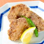 揚げ物好きはお試しを。ほほ肉を使った『鮪ほほ肉タツタ揚』