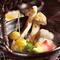旬の食材を取り入れた懐石料理をご案内しております!