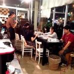 オーナー渡邊氏による、コーヒー教室が盛んに行われています