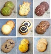 富山県産小麦「ゆきちから」を100%使った無添加、バター100%仕様のアメリカン&富山な手作りのクッキー! 全部で24種あり、バラエティー豊富です。ちょっとしたカジュアルな手土産からフォーマルなギフトまでOK!