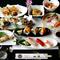 新鮮な魚介類をふんだんに使った『旬の味覚会席コース』