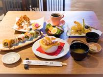 少し贅沢したい日に。メインが選べて楽しい『お昼の和食会席ランチセット』