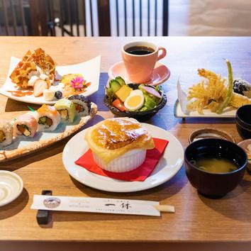お昼の和食会席ランチセット