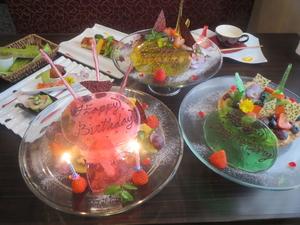 思い出に残るお誕生日にピッタリ! 『バースデーケーキ』