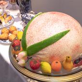 記念日に大きな桃まんはいかがですか?