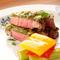 肉料理も旬の香りがたっぷり広がる『牛肉の木の芽味噌焼』