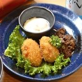 口の中で食材の融合を楽しむ『米沢牛すき焼きコロッケ』
