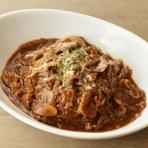 豚バラ肉とデミグラスソースでつくる『特製ハヤシライス』