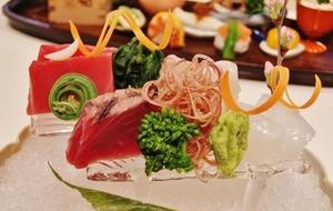 新鮮な魚介を熟練の技でつくりあげる『お寿司の盛り合わせ』
