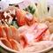『海鮮鍋(御一人前)』はオホーツクの海の幸がたっぷり