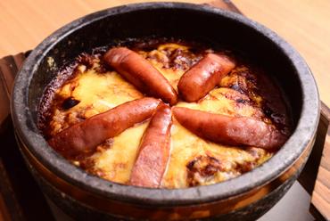 温かいまま最後まで食べられる『焼きカレー』