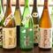 地酒や季節もの、レアものなどを厳選した『こだわりの日本酒』
