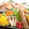自家栽培の米や有機野菜、天然ものにこだわった魚貝類