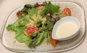 クリームチーズにメープルシロップを添えた『蔵王チーズ』