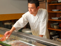 心がけていることは、お客さまの気持ちを考えて料理をつくること