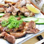 ガッツリ食べたいお肉派にも満足のメニューが盛りだくさん