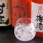 日本酒、焼酎、カクテルなど、お酒の種類も充実