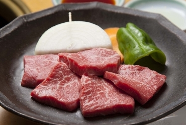 上品な味が好評の和牛上赤身