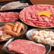 ※学生以外でも注文可能です。学生盛+α日替わり赤身肉・上焼肉塩焼・ホルモン・海鮮※お肉の内容は日によって変わります