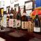 オススメの『オリジナル亀焼酎』など、お酒の種類も豊富