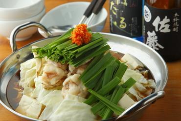 塩・醤油・味噌・味から選べる『もつ鍋』