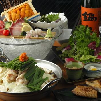 冬の博多宴会もつ鍋コース