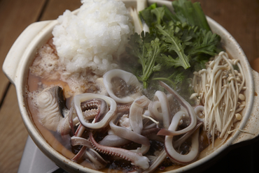 風味豊かな魚醤で仕上げた『いしりみぞれ鍋』