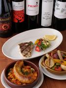 飲み放題でもセレクトワインでも。地中海料理とマリアージュ!