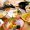 料理全10品・月毎の料理を堪能出来る、とてもリーズナブルなコースです。
