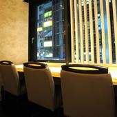 瀬戸内海の明石沖でとれた新鮮な魚介類を堪能