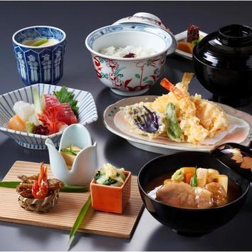 【和食ランチ】通常4060円相当→3400円人気の御膳「梅鉢」コース