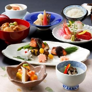 【季節の膳】秋の味覚をランチタイムにお気軽に+1ドリンク付
