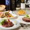 ボリューム満点の全7品の野菜イタリアンコースをフリードリンク付きでご提供致します。