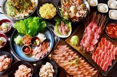 つまみもメインも充実! お肉と野菜のバランスもよく食べ応えあり!