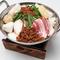 台湾もつ鍋・・・ラー油からスープまですべて自家製。